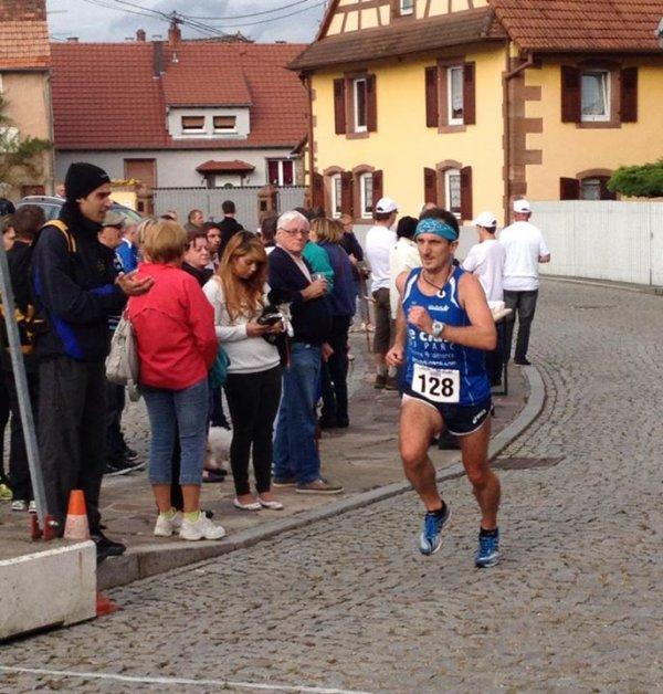 Samedi 23 août 2014 :  Foulées du Shhlembé d'Ingwiller (11 Km courus en 41M14S)