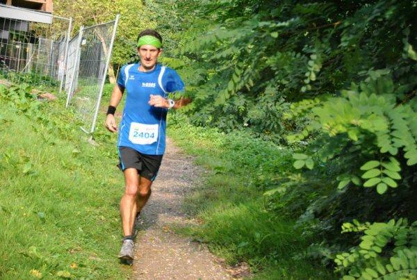 Dimanche 7 Septembre 2014 :  Trail du Haut Koenigsbourg (24 Km courus en 1H59M46S)