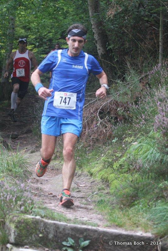 Samedi 13 septembre 2014 :  Trail de Saverne (24 Km courus en 2H08M09S)