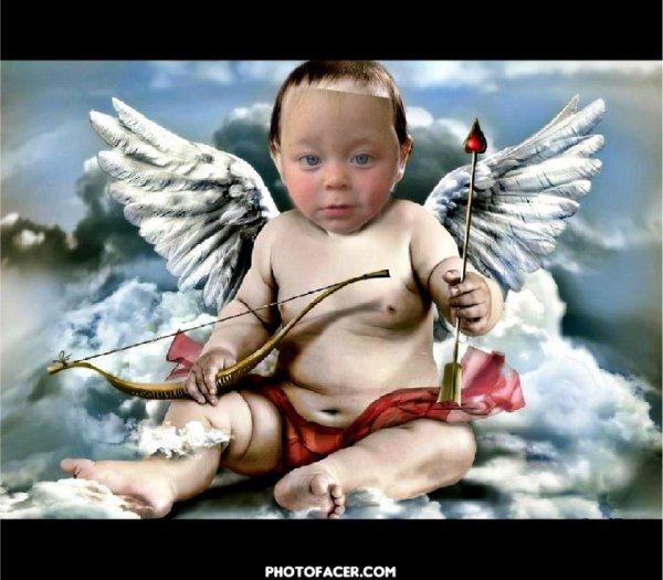 mon petit ange styven mon neuveux fieule