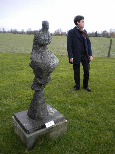 Matières et Espaces: un siècle de sculpture contemporaine en Belgique, dans et hors les murs.