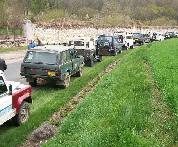 Week-end LAND à Boussay (37) balade + terrain