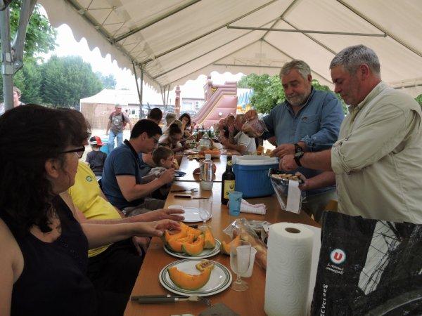 Pique-nique de Chabournay (86) le 25 juin 2017