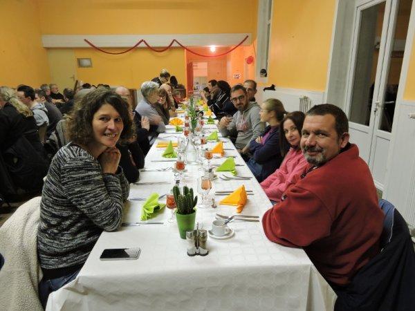 Sortie et repas fin d'année 02/12/2017
