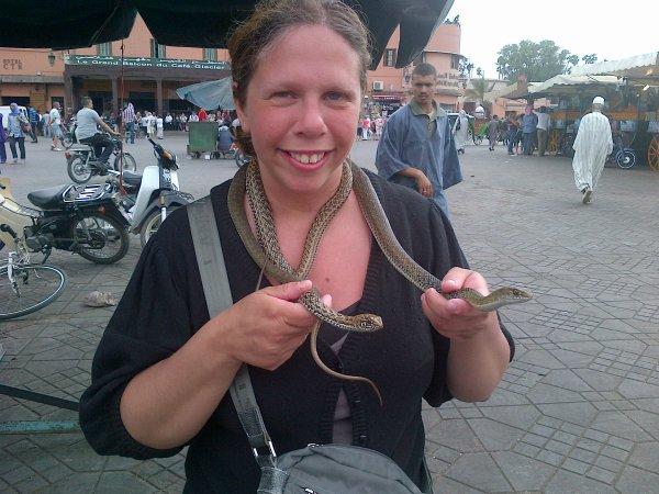 2 serpents sur moi