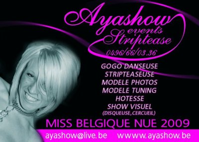 l'agence www.ayashow.be