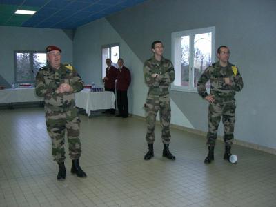 REPAS D'INVESTITURE POUR NOTRE NOUVEAU CAPITAINE COMMANDANT