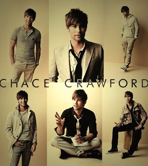 Chace Crawford ♥ .
