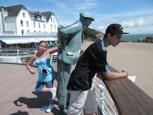 Moi et Mon frere a la plage de monsieur HULOT