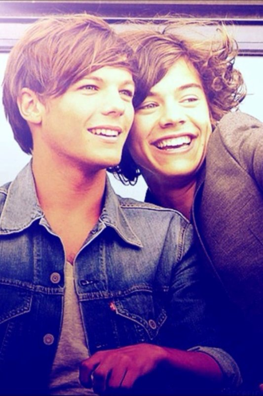 Une photo troooop magnifique de Harry et Louis !