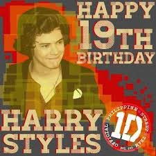 Happy Birthday Harry Styles