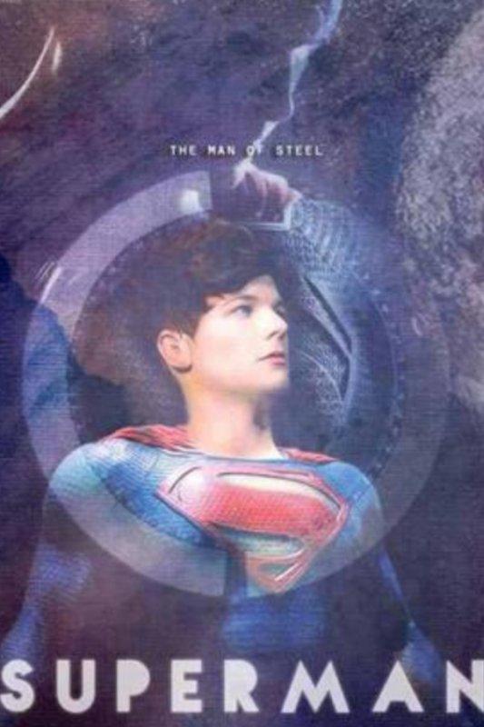 Superman, c'est lui mon héros...!