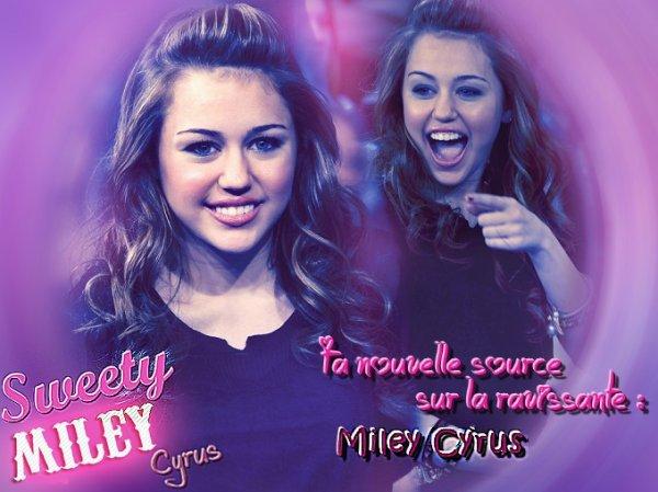 Ta nouvelle source sur Miley Cyrus !