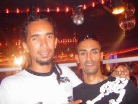 Dan et Djulcy au Tempo discotheque