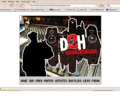 Making OFF du projet Du Haut de Mon Hip Hop   D2H
