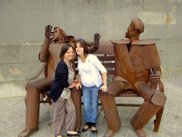 La maman et sa   fille a Paris (♥)