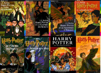 La saga Harry Potter.