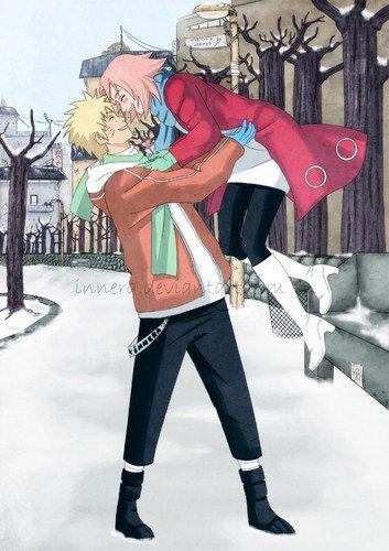 One shot : Les frais flocons de neige et la chaleur de l'amour