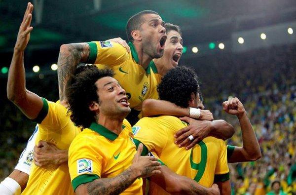Brésil 3 - Espagne 0