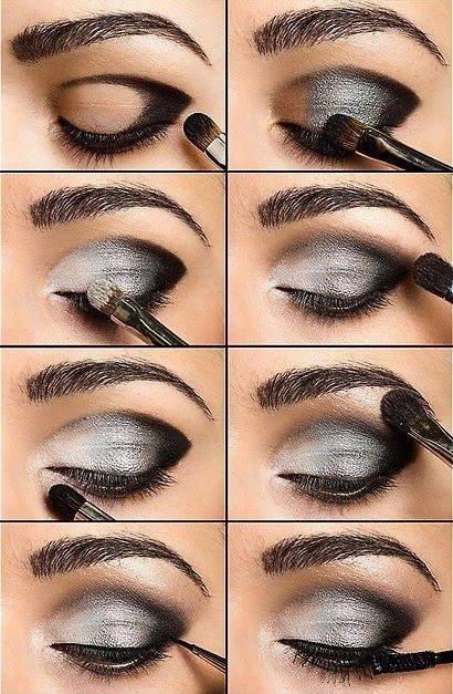 Assez Maquillage - Tuto fard a paupière - truc, conseil, astuce pour  HN68
