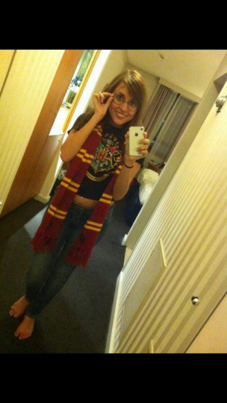 Moi en mode Harry Potter ^^