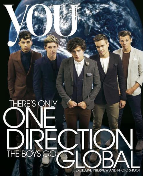 """Les garçons en couverture du """" YOU """" magazine."""