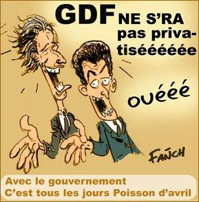 IL VA Y AVOIR DE L'EAU DANS LE GAZ !