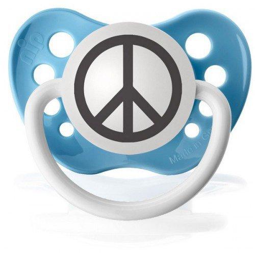 Tétine Peace and Love