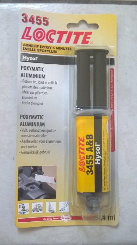 EPOXY ALU POXYMATIC LOCTITE 3455