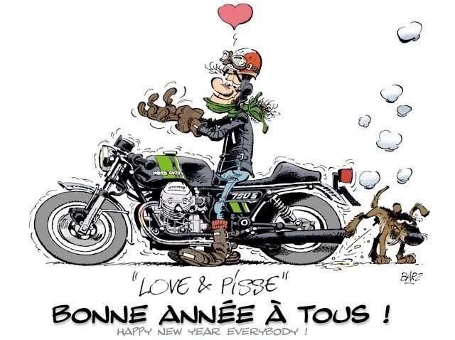 BONNE ANNÉE A TOUS MES MOBEURS