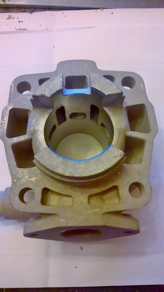 cylindre KTM 50 CC
