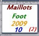 Photo de maillots-foot-2009-10