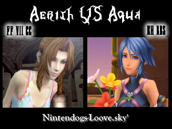 Aerith VS Aqua !