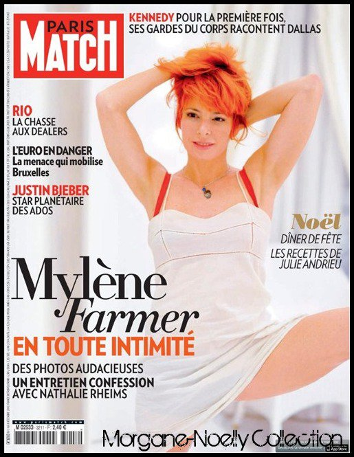 [ Mylène Farmer - Paris Match ]