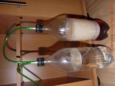 Construction de mon système de production de CO2 artisanal