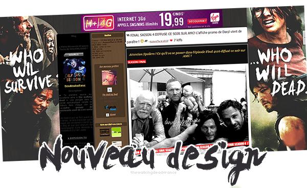 . Le blog fait peau neuve avec un nouveau design vous aimez ?      .
