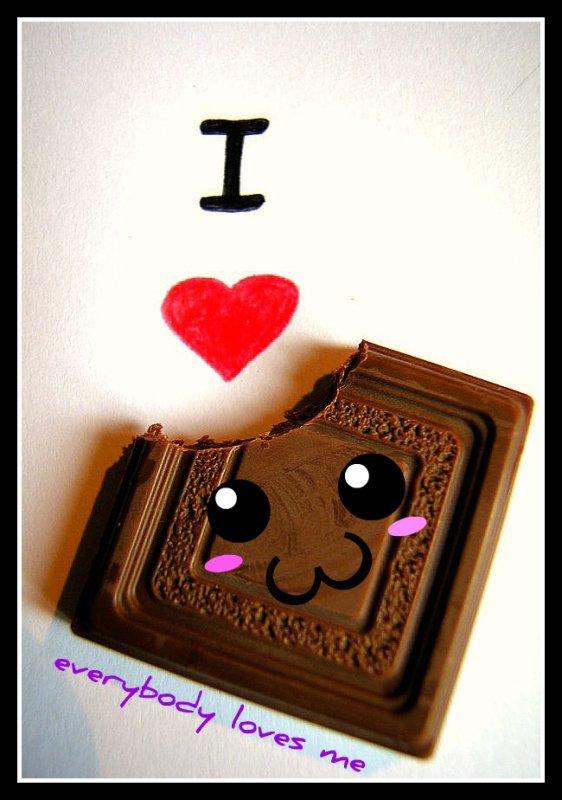 Chocolat <3 une grande histoire d'amour :3