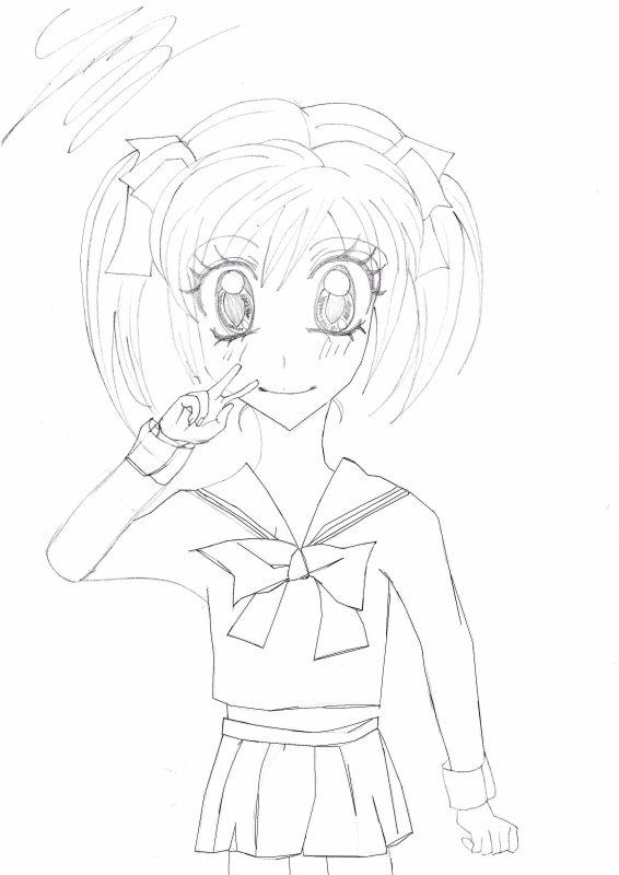 Mon dessin pour le concours de PrincesseSakuraxSakura !