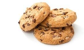 cookies maison au chocolat noir et au carambar