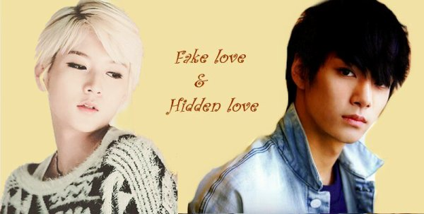 Fake  couple and Hidden love