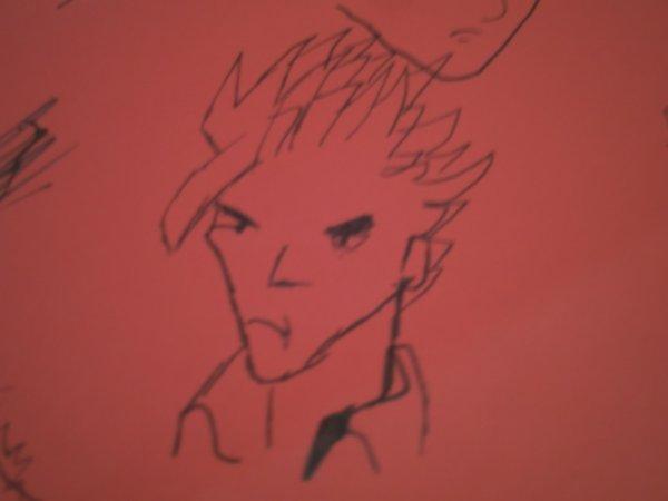 mon dessin de hiruma