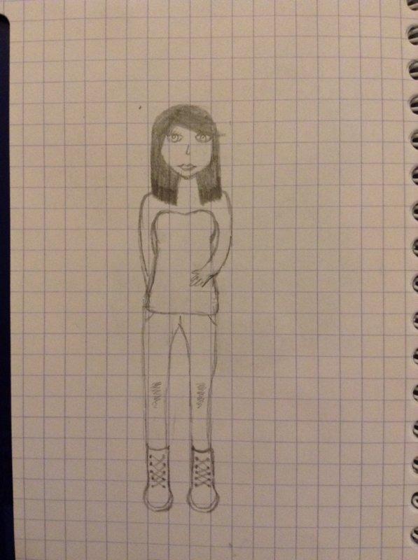 Commencement d'un dessin
