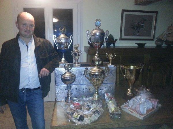 Championnat Général 2015  aux 5 premiers inscrits de la Rapide de Waziers.