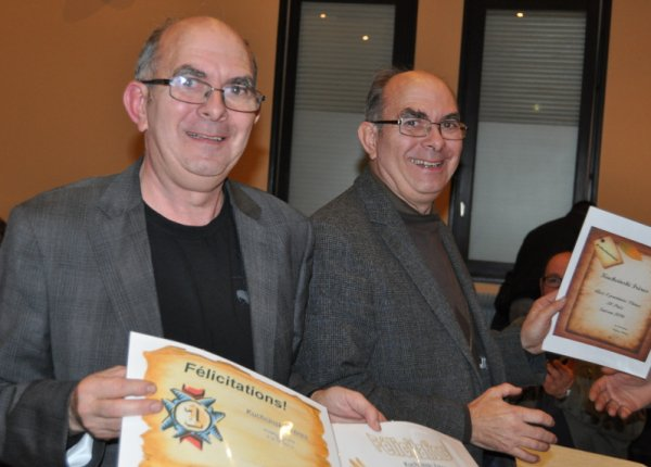 Remise des Prix du secteur de l'avant le 29 octobre au local de Guesnain