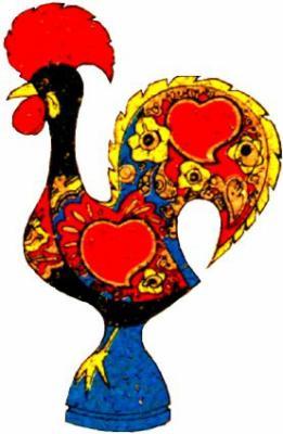 L 39 histoire du coq de barcelos sorriso portugal - Coq a dessiner ...