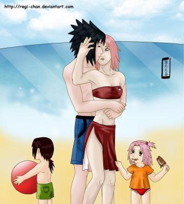 Sasuke/Sakura Familles