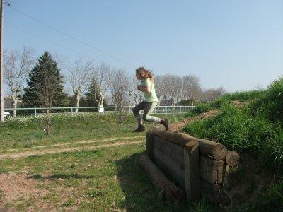 Moi qui saute sans cheval au cross !!!!!!
