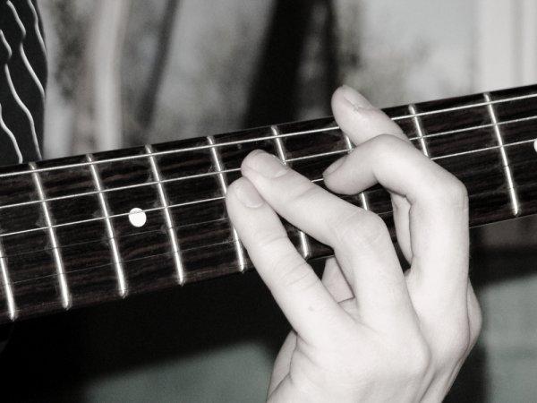 The guitare et le gitariste, l'art de la musique