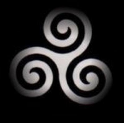 Le triskell (signe celtique)