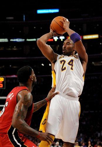 Kobe VS James